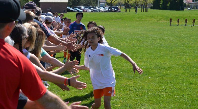soccer, sportsmanship, playing